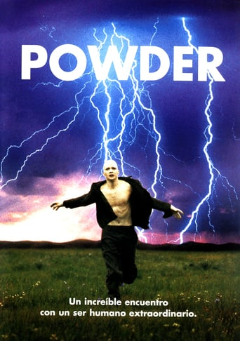 Poster for the movie «Powder (Pura energía)»