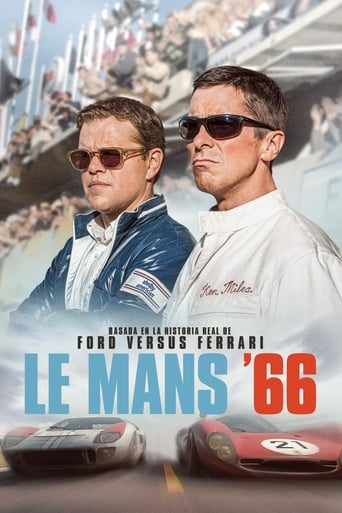 Poster for the movie «Le mans 66»