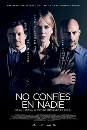 """Poster for the movie """"No confíes en nadie"""""""