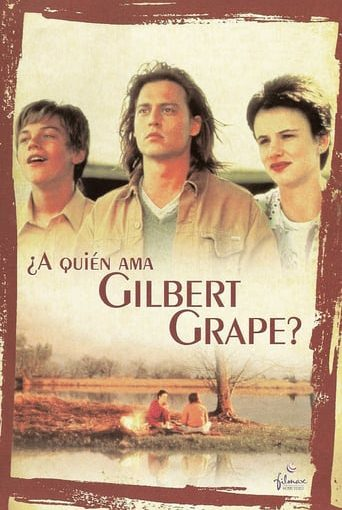 "Poster for the movie ""¿A quién ama Gilbert Grape?"""