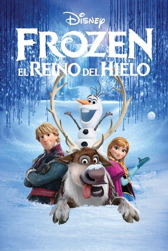 "Poster for the movie ""Frozen: el reino del hielo"""