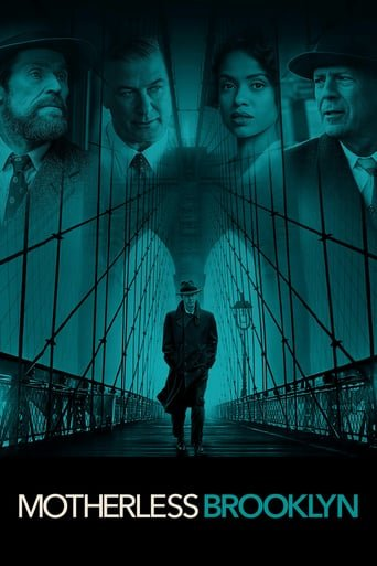 """Poster for the movie """"Motherless Brooklyn"""""""