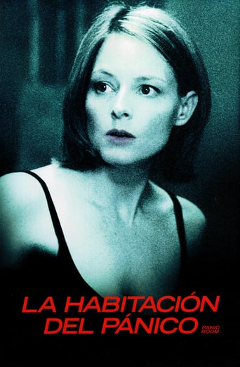 "Poster for the movie ""La habitación del pánico"""