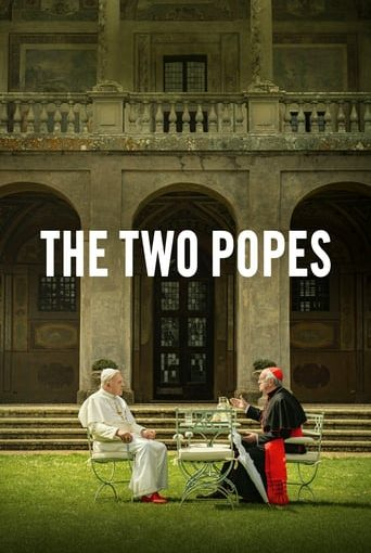"""Poster for the movie """"The Two Popes"""""""