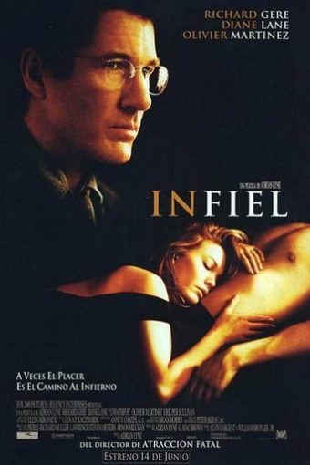 """Poster for the movie """"Infiel"""""""