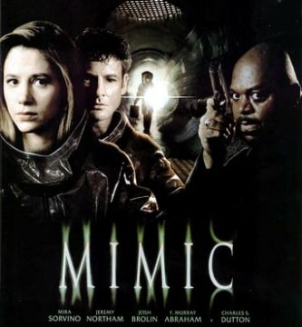 "Poster for the movie ""Mimic"""