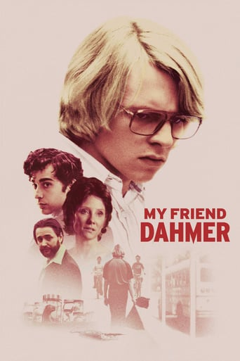 Poster for the movie «My Friend Dahmer»