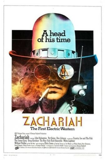 """Poster for the movie """"Zachariah"""""""