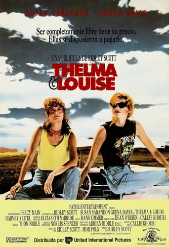 "Poster for the movie ""Thelma y Louise"""