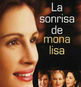 "Poster for the movie ""La sonrisa de Mona Lisa"""