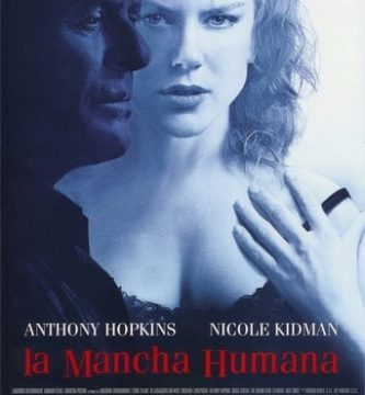 "Poster for the movie ""La mancha humana"""