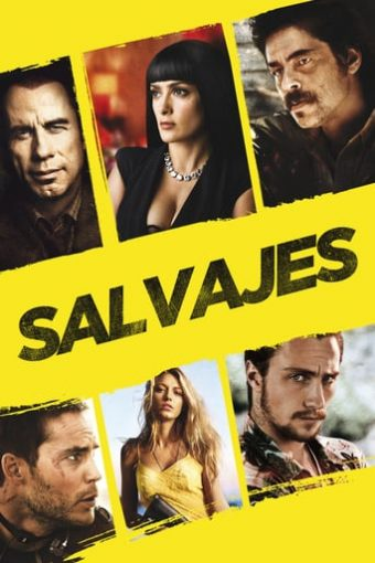 """Poster for the movie """"Salvajes"""""""