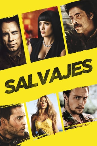 Poster for the movie «Salvajes»
