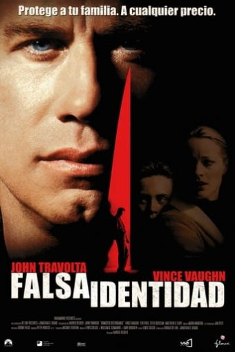 """Poster for the movie """"Falsa identidad"""""""