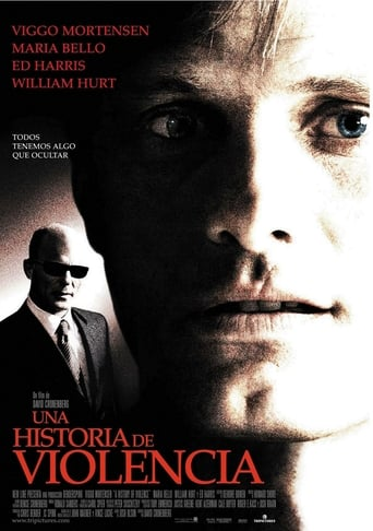 "Poster for the movie ""Una historia de violencia"""