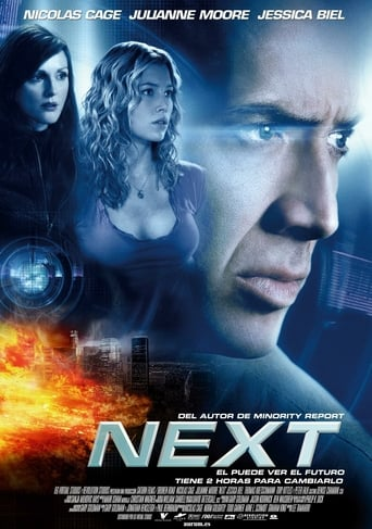 Poster for the movie «Next»