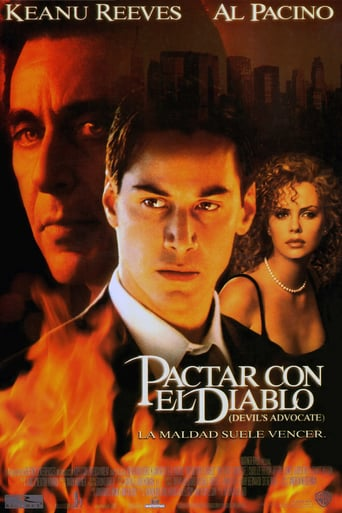 "Poster for the movie ""Pactar con el diablo"""