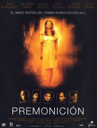 "Poster for the movie ""Premonición"""