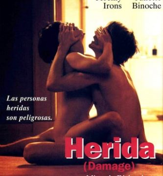 """Poster for the movie """"Herida"""""""