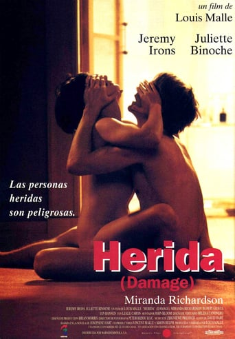 Poster for the movie «Herida»
