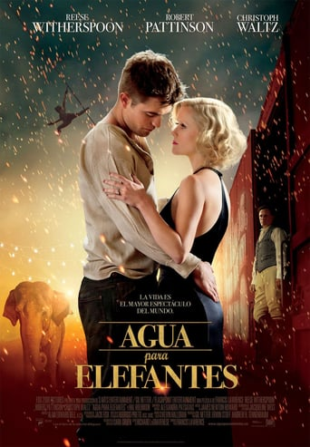 "Poster for the movie ""Agua para elefantes"""