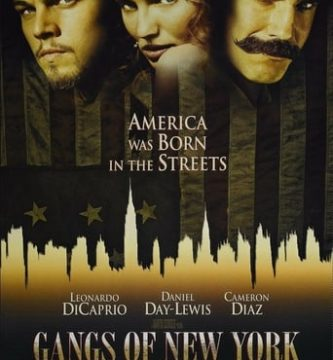 "Poster for the movie ""Gangs of New York"""