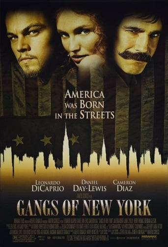 Poster for the movie «Gangs of New York»