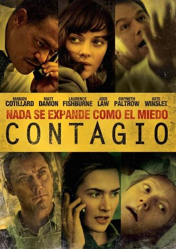 "Poster for the movie ""Contagio"""