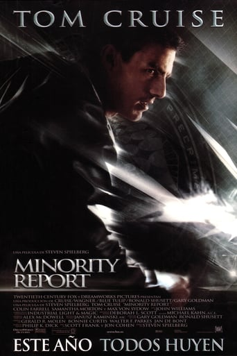 Poster for the movie «Minority Report»
