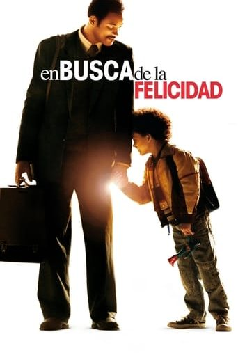 "Poster for the movie ""En busca de la felicidad"""