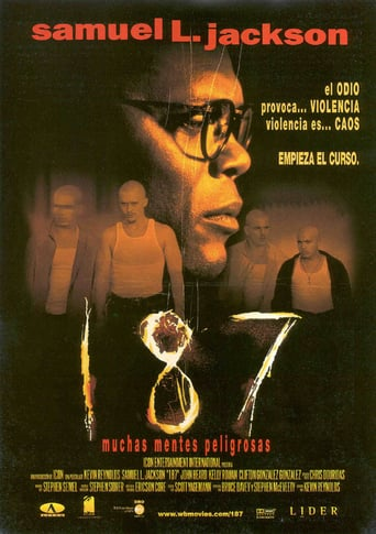 "Poster for the movie ""187, muchas mentes peligrosas"""
