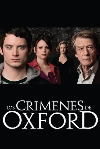"Poster for the movie ""Los crímenes de Oxford"""