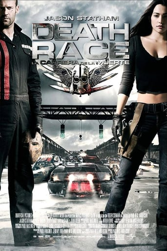 "Poster for the movie ""Death Race: La carrera de la muerte"""