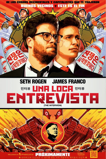 "Poster for the movie ""The Interview"""