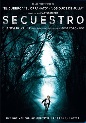 "Poster for the movie ""Secuestro"""