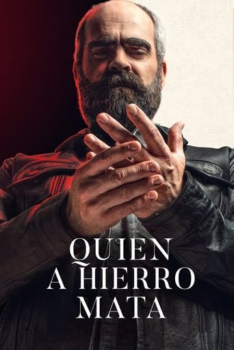 """Poster for the movie """"Quien a hierro mata"""""""