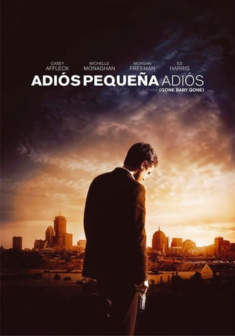 "Poster for the movie ""Adiós pequeña, adiós"""
