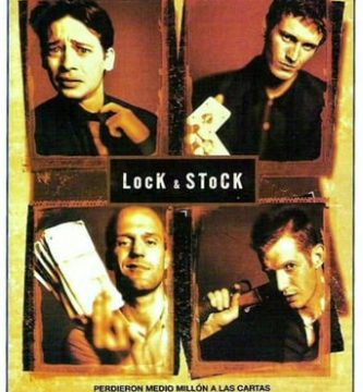"""Poster for the movie """"Lock & Stock"""""""