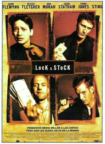 "Poster for the movie ""Lock & Stock"""