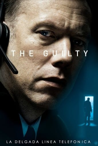 "Poster for the movie ""The Guilty"""
