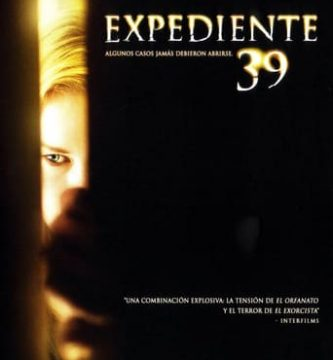 """Poster for the movie """"Expediente 39"""""""