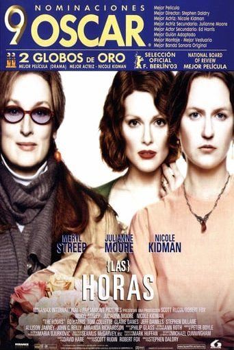 "Poster for the movie ""Las horas"""