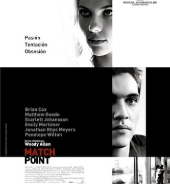 "Poster for the movie ""Match Point"""