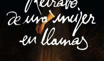 Poster for the movie «Retrato de una mujer en llamas»