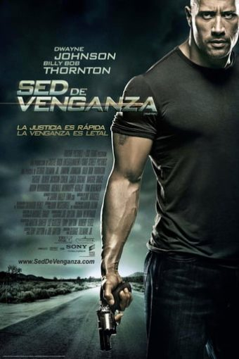 """Poster for the movie """"Sed de venganza"""""""