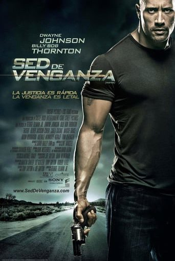 "Poster for the movie ""Sed de venganza"""