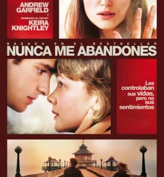 "Poster for the movie ""Nunca me abandones"""