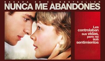 """Poster for the movie """"Nunca me abandones"""""""