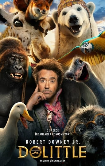 "Poster for the movie ""Las aventuras del Doctor Dolittle"""