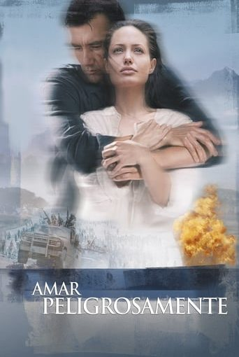 "Poster for the movie ""Amar peligrosamente"""